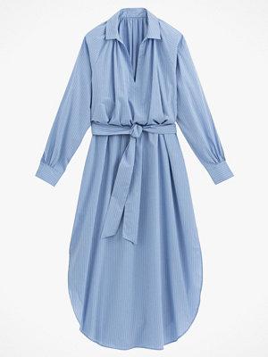 La Redoute Lång, randig klänning med lång ärm
