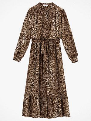 La Redoute Lång, leopardmönstrad klänning