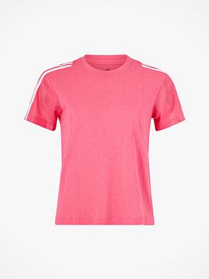 Sportkläder - adidas Sport Performance Träningstopp 3-stripes Mesh Sleeves Tee