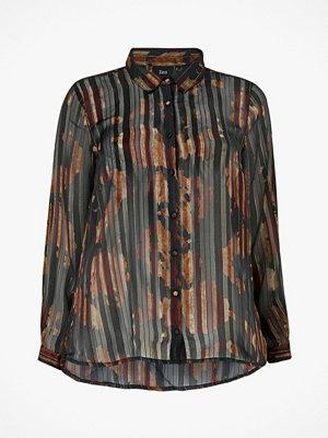 Zizzi Blus xFilina L/S Shirt