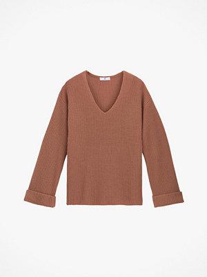 La Redoute Grovstickad tröja med V-ringning