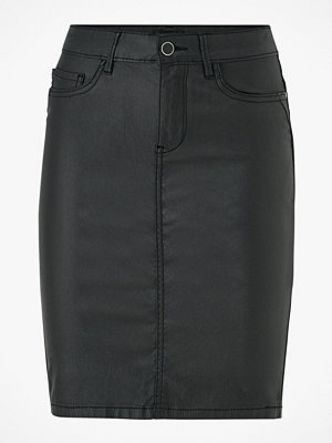 Only Kjol onlEmilie Rock Coated Skirt