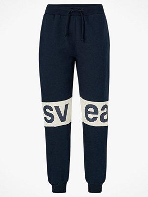 Svea Sweatshirtbyxor 2 Col Big Svea Logo Sweat Pants svarta