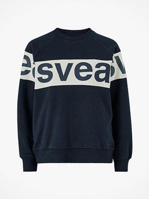 Svea Sweatshirt 2 Col Big Svea Logo Crew