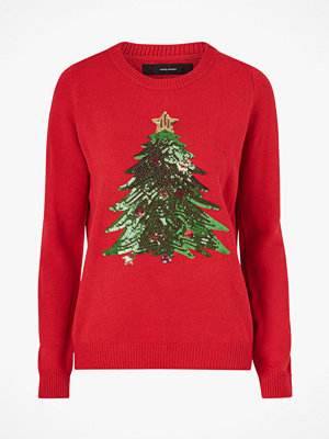 Vero Moda Jultröja vmShiny Christmas Tree LS Blouse
