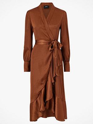 Object Maxiklänning objAlina L/S Flounce Dress