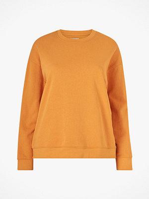 La Redoute Enfärgad sweatshirt med rund halsringning
