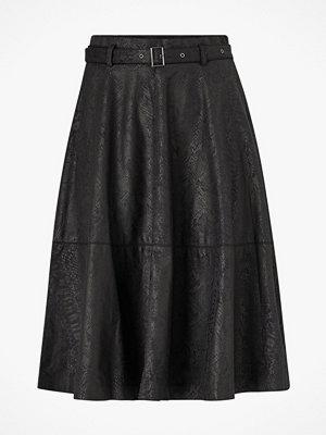 Kjolar - Vila Kjol viPines Snakey HW Midi Skirt