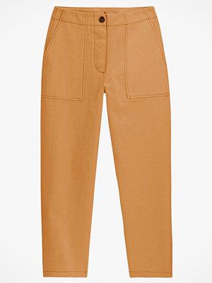 La Redoute beige byxor Rak byxa i workwear-stil