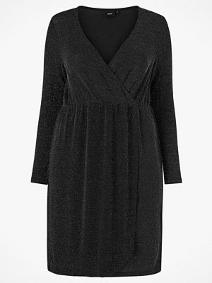 Zizzi Omlottklänning mNatasia L/S Dress
