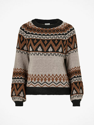 Vila Tröja viIlse Knit L/S O-Neck Top
