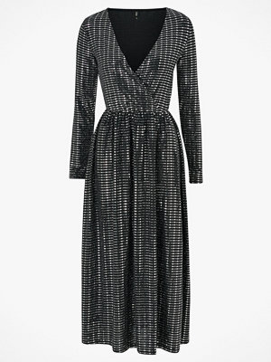 Only Maxiklänning onlRebecca L/S Glitter Maxi Dress