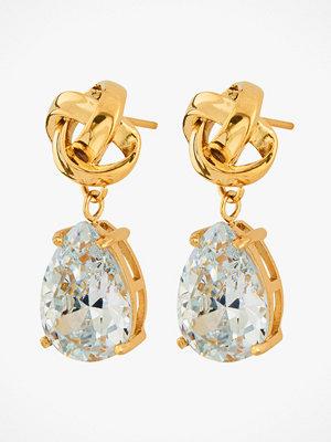 Edblad smycke Örhängen Gala Earrings cz Gold