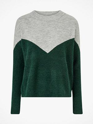 Vero Moda Tröja vmRana LS O-neck Block Blouse