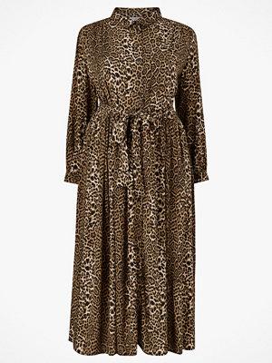 La Redoute Lång, leopardmönstrad skjortklänning