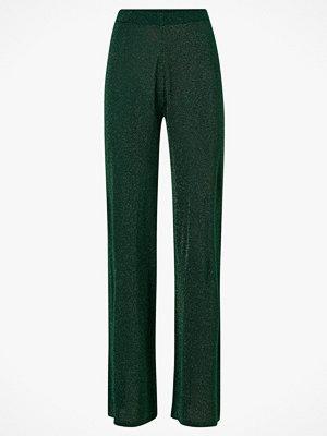 Cream Byxor SierraCR Knit Pants mörkgröna