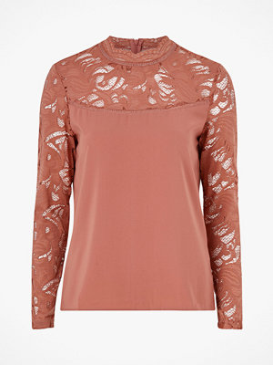 Vila Topp viStasia L/S Solid Lace Top