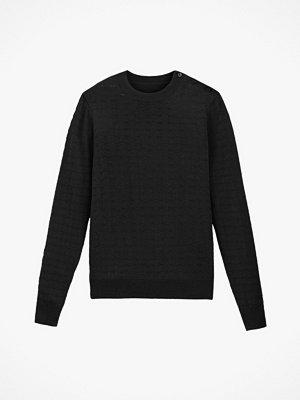 Tröjor - La Redoute Finstickad tröja med rund halsringning och hålmönster
