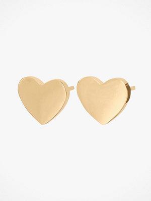 Edblad smycke Örhänge Pure Heart Studs Gold