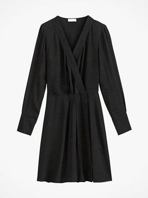 La Redoute Kort omlottklänning med lång ärm
