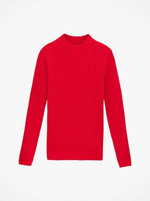Tröjor - La Redoute Finstickad, kabelmönstrad tröja med rund halsringning