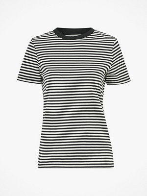 Selected Femme Topp slfMy Perfect SS Tee Box Cut Stri
