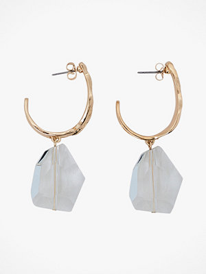 Pieces smycke Örhängen pcNakia Hoop Earrings D2D