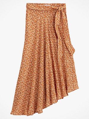 La Redoute Asymmetrisk, lång kjol med blommönster