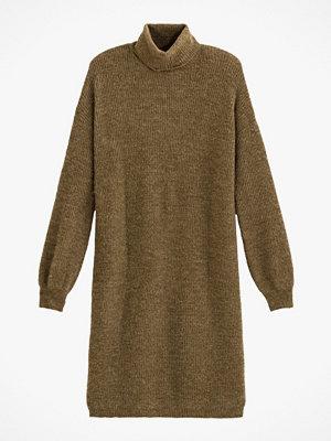 La Redoute Kort, stickad klänning med polokrage