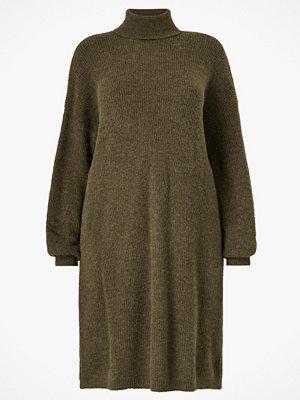La Redoute Stickad klänning med polokrage