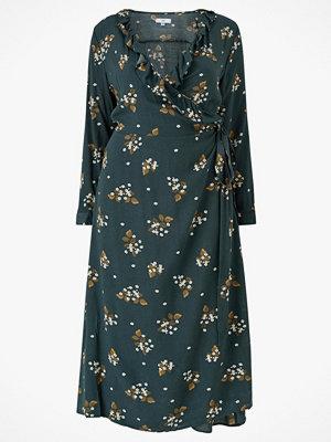La Redoute Blommig, lång omlottklänning