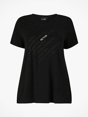Sportkläder - Zizzi Träningstopp aIris S/S Reflex T-shirt