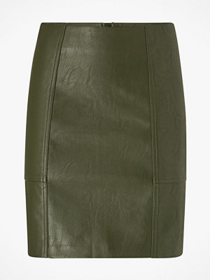 Only Kjol onlSky Faux Leather Skirt
