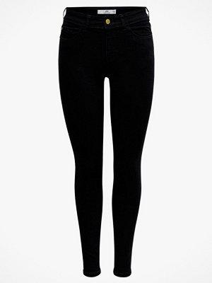 Jacqueline de Yong Jeans jdyJona Skinny HW Black
