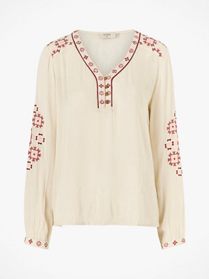 Cream Blus LavilnaCR Blouse