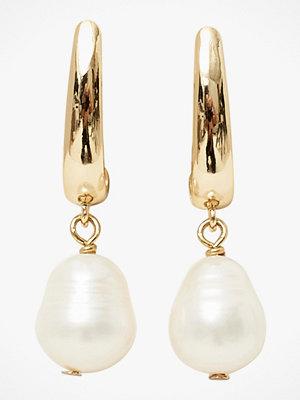 SNÖ of Sweden smycke Örhängen Crystal Pearl Ear