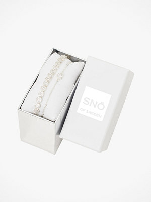 SNÖ of Sweden smycke Armband Crystal Vintage Brace Set, 2-pack