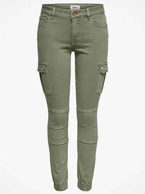 Only Byxor onlMissouri Reg Ankle Cargo Pant Skinny omönstrade
