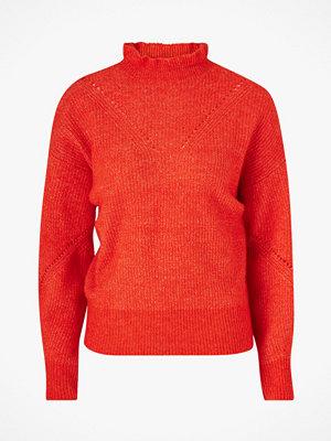 Selected Femme Tröja slfInga LS Knit Frill-neck B
