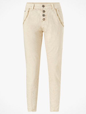 Cream Byxor CalinaCR Pants Baiily Fit omönstrade