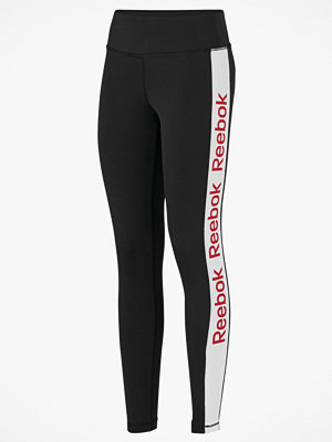 Reebok Performance Träningstights Linear Logo Poly Tight