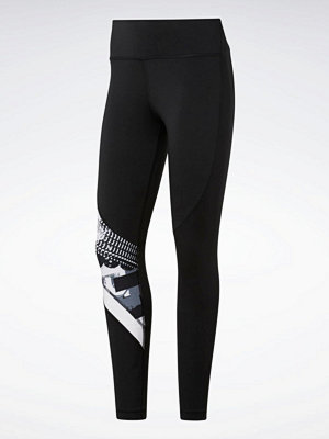 Reebok Performance Träningstights Wor Myt Aop Tights