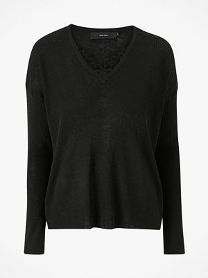 Vero Moda Tröja vmNora LS V-neck Lace Blouse