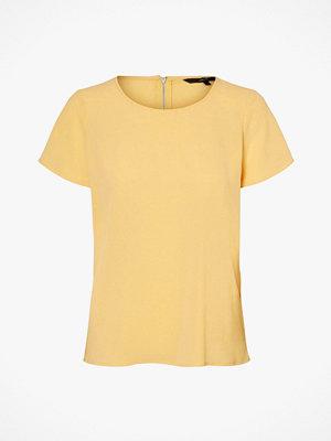 Vero Moda Blus vmSasha SS Zip Top Color