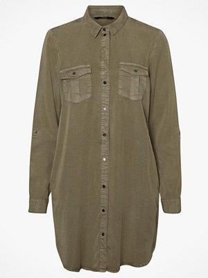 Vero Moda Skjortklänning vmSilla LS Short Dress