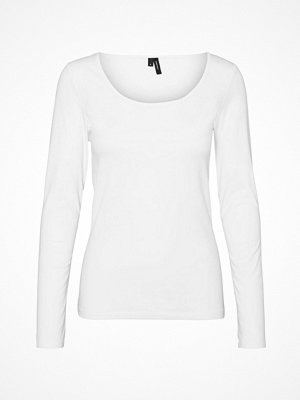 Vero Moda Topp vmMaxi My LS Soft Short U-neck