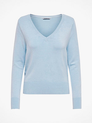 Only Tröja onlVenice L/S V-neck Pullover Knt