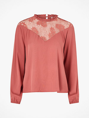 Vila Topp viSuvita L/S Lace Top