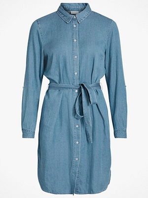Vila Klänning viBista Denim Belt Dress