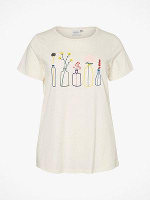 JUNAROSE by VERO MODA Topp jrPlant Bonjour SS T-shirt